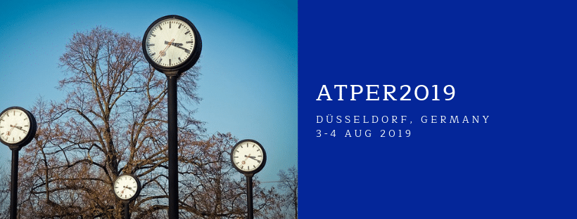 Abstract Submission Form – ATPER2019